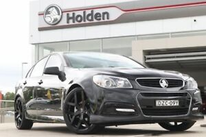 2013 Holden Commodore VF MY14 SV6 Black 6 Speed Manual Sedan