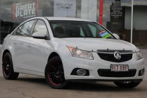 2014 Holden Cruze JH Series II MY14 Equipe White 6 Speed Sports Automatic Sedan Kippa-ring Redcliffe Area Preview