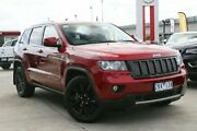 2012 Jeep Grand Cherokee WK MY2012 JET Deep Cherry Red 5 Speed Sports Automatic Wagon Frankston Frankston Area Preview