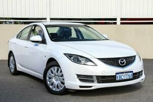 2009 Mazda 6 GH MY09 Limited White 5 Speed Auto Activematic Sedan Cannington Canning Area Preview