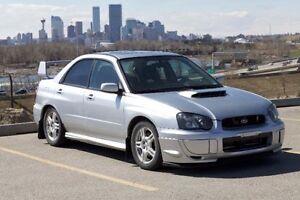 2004 Subaru Impreza WRX Sedan