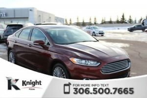 2015 Ford Fusion Titanium AWD! Command Start! Navigation! Blueto