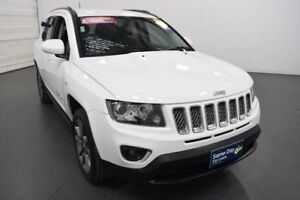2014 Jeep Compass MK MY15 North (4x2) White 6 Speed Automatic Wagon