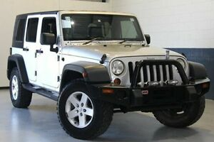 2010 Jeep Wrangler Silver Automatic Softtop Nailsworth Prospect Area Preview