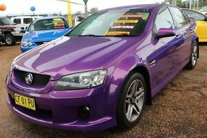 2007 Holden Commodore VE SV6 Purple 6 Speed Manual Sedan Minchinbury Blacktown Area Preview