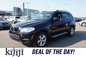 2012 BMW X5 AWD 3.5I XDRIVE Navigation (GPS),  Leather,  Heate