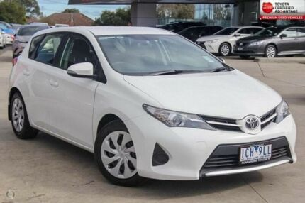 2014 Toyota Corolla White Constant Variable Hatchback
