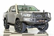 2018 Toyota Hilux GUN126R MY17 SR5 (4x4) Grey 6 Speed Automatic Dual Cab Utility Burleigh Heads Gold Coast South Preview