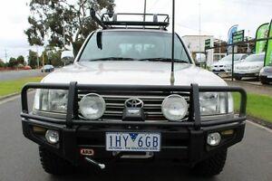 2004 Toyota Landcruiser UZJ100R GXL Silver 5 Speed Automatic Wagon West Footscray Maribyrnong Area Preview