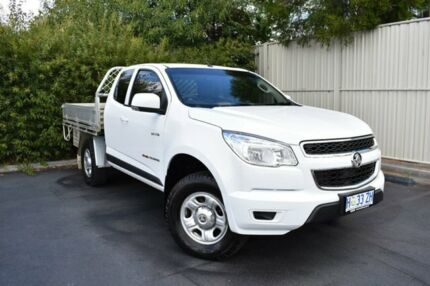 2013 Holden Colorado RG MY14 LX Space Cab White 6 Speed Sports Automatic Cab Chassis Devonport Devonport Area Preview