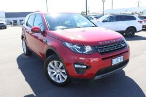 2015 Land Rover Discovery Sport L550 16MY Si4 SE Red 9 Speed Sports Automatic Wagon Devonport Devonport Area Preview