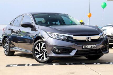2016 Honda Civic 10th Gen MY16 VTi-S Grey 1 Speed Constant Variable Sedan Blacktown Blacktown Area Preview