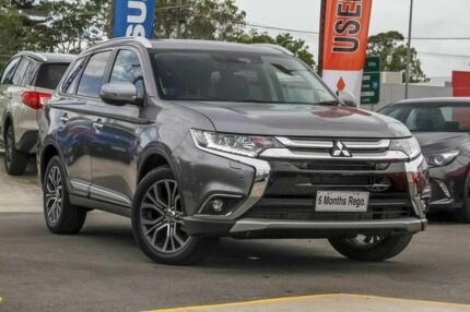 2017 Mitsubishi Outlander ZK MY17 Exceed 4WD Titanium 6 Speed Sports Automatic Wagon Aspley Brisbane North East Preview