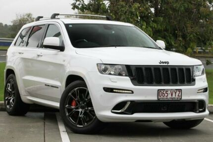 2012 Jeep Grand Cherokee WK MY2012 SRT-8 White 5 Speed Sports Automatic Wagon