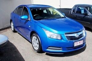 2010 Holden Cruze JG CD Blue 5 Speed Manual Sedan Gympie Gympie Area Preview