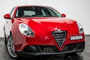 2013 Alfa Romeo Giulietta SERIES 0 MY13 Distinctive Red 6 Speed Manual Hatchback Rozelle Leichhardt Area Preview