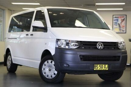 2012 Volkswagen Caravelle White Sports Automatic Dual Clutch Wagon Chatswood Willoughby Area Preview