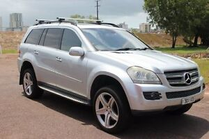 2007 Mercedes-Benz GL X164 Silver 7 Speed Automatic Wagon The Gardens Darwin City Preview