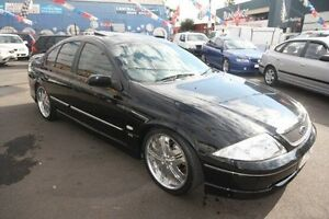 2001 Ford Fairmont AU II Ghia Black 4 Speed Automatic Sedan Kingsville Maribyrnong Area Preview