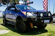 2011 Mazda BT-50 UP0YF1 XTR Blue 6 Speed Manual Utility Wangara Wanneroo Area Preview