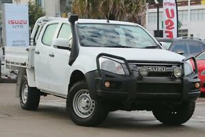 2015 Isuzu D-MAX TF MY15 SX (4x4) White 5 Speed Automatic Crew C/Chas Dee Why Manly Area Preview