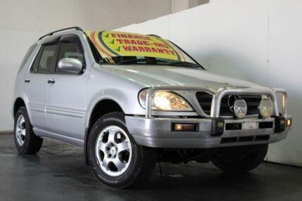2003 Mercedes-Benz ML W163 270 CDI (4x4) Silver 5 Speed Auto Tipshift Wagon