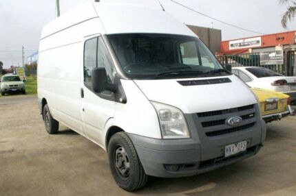 2008 Ford Transit High Roof White 6 Speed Manual Van Carrum Downs Frankston Area Preview