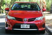 2013 Toyota Corolla ZRE182R Ascent S-CVT Wildfire 7 Speed Constant Variable Hatchback Hawthorn Mitcham Area Preview
