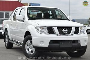 2011 Nissan Navara D40 MY11 ST White 6 Speed Manual Utility Wangara Wanneroo Area Preview