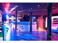 night club available for Birthday /Christmas Parties