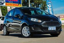 2013 Ford Fiesta WT CL PwrShift Black 6 Speed Sports Automatic Dual Clutch Hatchback Bellevue Swan Area Preview