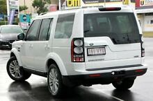 2015 Land Rover Discovery Series 4 L319 MY16 SDV6 HSE Fuji White 8 Speed Sports Automatic Wagon Buderim Maroochydore Area Preview