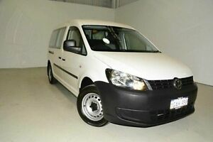 2013 Volkswagen Caddy 2KN MY13 TDI250 Maxi DSG White 7 Speed Sports Automatic Dual Clutch Van Edgewater Joondalup Area Preview