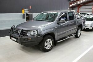 2011 Volkswagen Amarok 2H TDI400 4Mot Trendline Grey 6 Speed Manual Utility Maryville Newcastle Area Preview