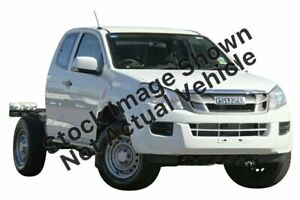 2015 Isuzu D-MAX MY15 SX Space Cab White 5 Speed Sports Automatic Cab Chassis Gympie Gympie Area Preview
