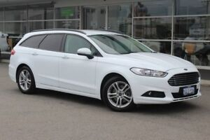 2018 Ford Mondeo MD 2018.25MY Ambiente PwrShift Frozen White 6 Speed Sports Automatic Dual Clutch