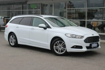 2018 Ford Mondeo MD 2018.25MY Ambiente SelectShift Frozen White 6 Speed Sports Automatic Wagon Osborne Park Stirling Area Preview