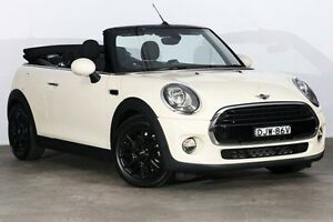 2016 Mini Convertible F57 Cooper Pepper White 6 Speed Automatic Convertible Alexandria Inner Sydney Preview