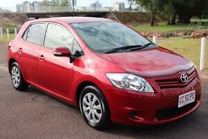 2010 Toyota Corolla ZRE152R MY10 Ascent Wildfire 6 Speed Manual Hatchback The Gardens Darwin City Preview