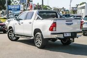 2018 Toyota Hilux GUN126R SR5 Double Cab White 6 Speed Sports Automatic Utility Cannington Canning Area Preview
