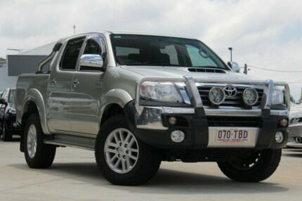 2013 Toyota Hilux KUN26R MY12 SR5 Double Cab Gold 5 Speed Manual Utility Kedron Brisbane North East Preview