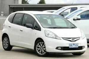 2010 Honda Jazz GE MY10 VTi Limited Edition White 5 Speed Automatic Hatchback Nunawading Whitehorse Area Preview