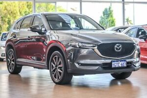 2017 Mazda CX-5 KE1032 Akera SKYACTIV-Drive i-ACTIV AWD Grey 6 Speed Sports Automatic Wagon