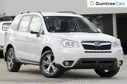 2014 Subaru Forester S4 MY14 2.5i Lineartronic AWD Luxury White 6 Speed Constant Variable Wagon Osborne Park Stirling Area Preview