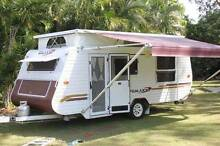 USED GALAXY SOUTHERN CROSS 2005 MODEL SERIES 3 POP TOP CARAVAN Dundowran Beach Fraser Coast Preview