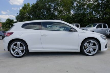 2011 Volkswagen Scirocco 1S MY12 R Coupe DSG White 6 Speed Sports Automatic Dual Clutch Hatchback