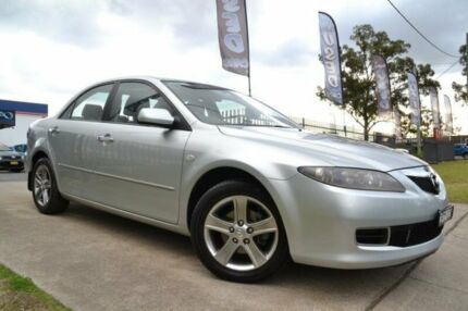 2007 Mazda 6 GG MY07 Sports Silver 5 Speed Auto Activematic Sedan Mulgrave Hawkesbury Area Preview