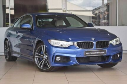 2016 BMW 440i F32 Blue 8 Speed Sports Automatic Coupe Darra Brisbane South West Preview