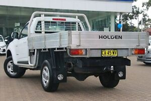 2012 Holden Colorado RG LX (4x2) White 5 Speed Manual Cab Chassis Zetland Inner Sydney Preview