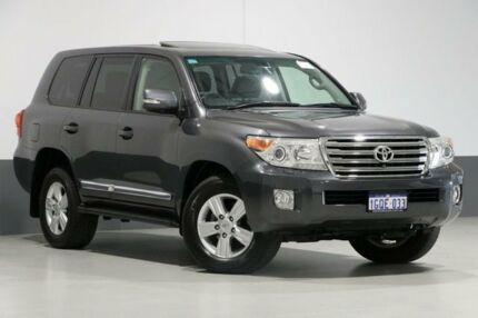 2014 Toyota Landcruiser VDJ200R MY13 Sahara (4x4) Grey 6 Speed Automatic Wagon Bentley Canning Area Preview